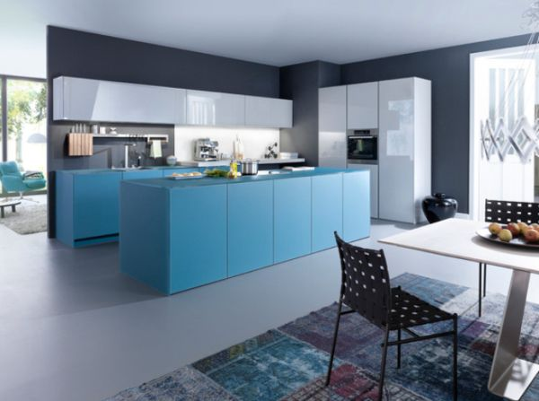 Grey And Blue Kitchen 15 contemporary kitchen designs that will rock your cooking world