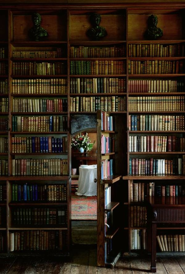 View in gallery Traditional ... & Secret Bookcase Doors Always Fun And Always Mysterious