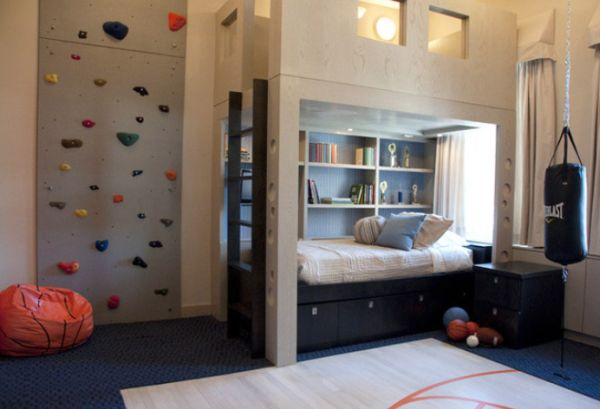 Elementary age boys bedrooms for Room decor ideas for 12 year old boy