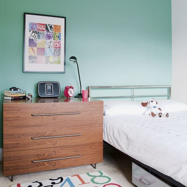 40 teenage boys room designs we love for Simple and sober bedroom designs