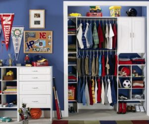 Creating More Space In Your Cluttered Children's Closets