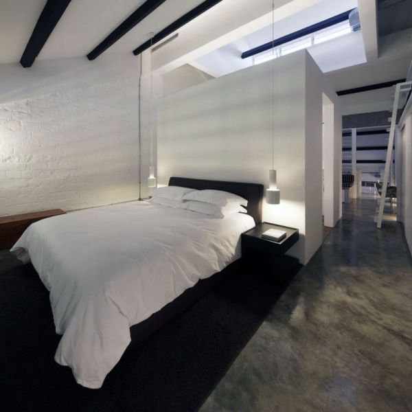 interior designing of bedroom 2. 2 Contemporary loft apartment from an old office unit  Top 10 Most Amazing Loft Designs We Love