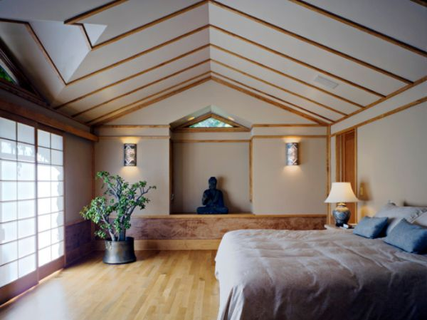 Buddha Representations View In Gallery Eclectic Bedroom