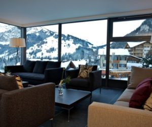 The dreamy Cambrian Hotel set in the amazing Swiss Alps