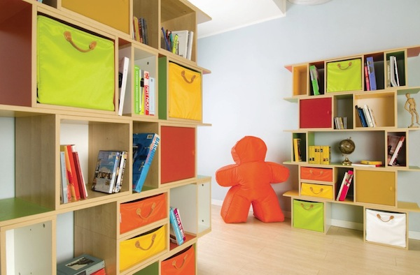 childrens storage bookshelf