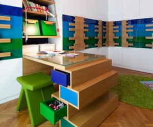 Diy forward facing bookshelves for the children s room Maximise storage small bedroom