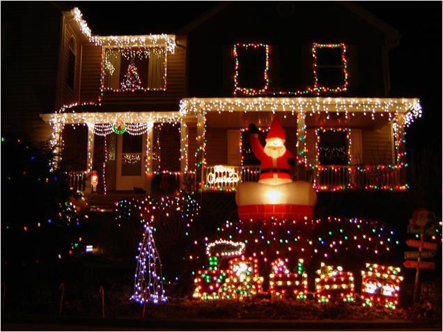 Christmas Light Ideas Outdoor