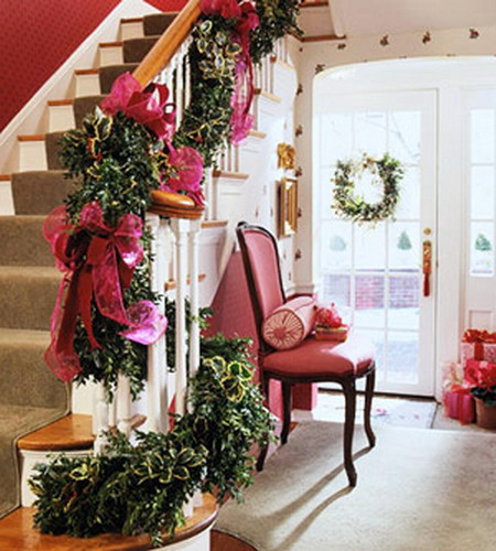 Decorate The Stairs For Christmas: Give Your Staircase A Festive Makeover Just In Time For