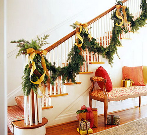 Give Your Staircase A Festive Makeover Just In Time For