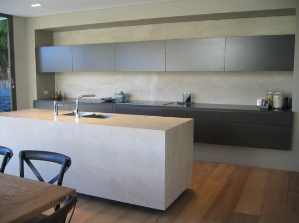 concrete kitchen island 5 contemporary kitchen island ideas 2430