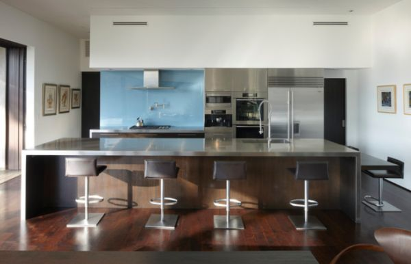 View In Gallery. If You Opt For A Stainless Steel Island For Your Kitchen  ...