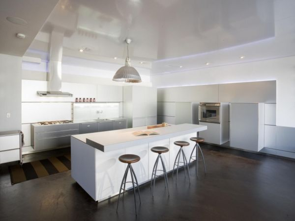 Modern White Kitchen Dark Floor 15 contemporary kitchen designs that will rock your cooking world
