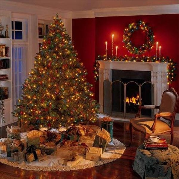 decorations view - Red And Gold Christmas Decoration Ideas