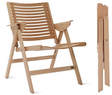 View In Gallery. The Rex Folding Lounge Chair ...