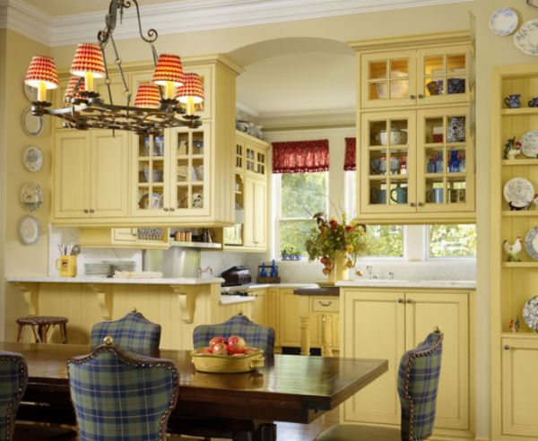 Superieur Chic And Inviting French Country Kitchen Interiors