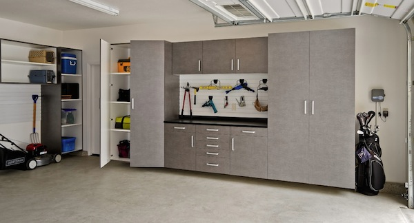 Simple Ideas To Organize Your Winter Garage on 3 car garage shop layout ideas