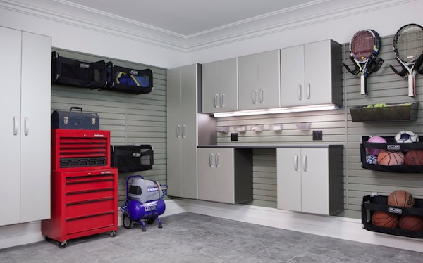 garage organization cabinetry