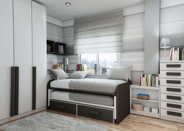 view in gallery minimalist bedroom