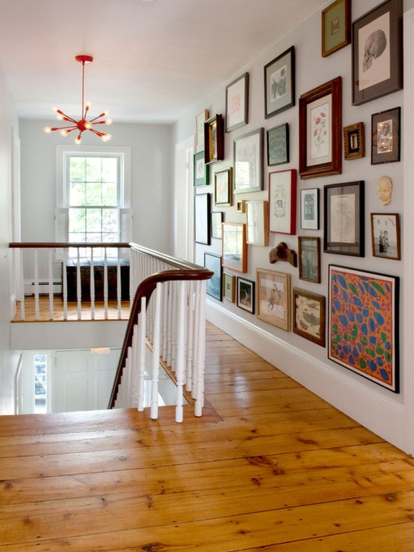 Gallery Wall Design how to hang pictures in your home's hallway