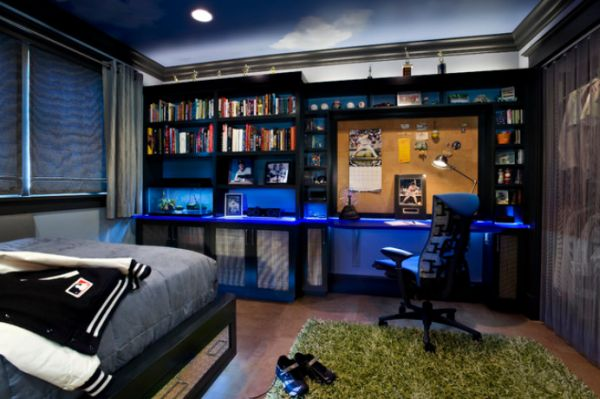 d cor View. 40 Teenage Boys Room Designs We Love