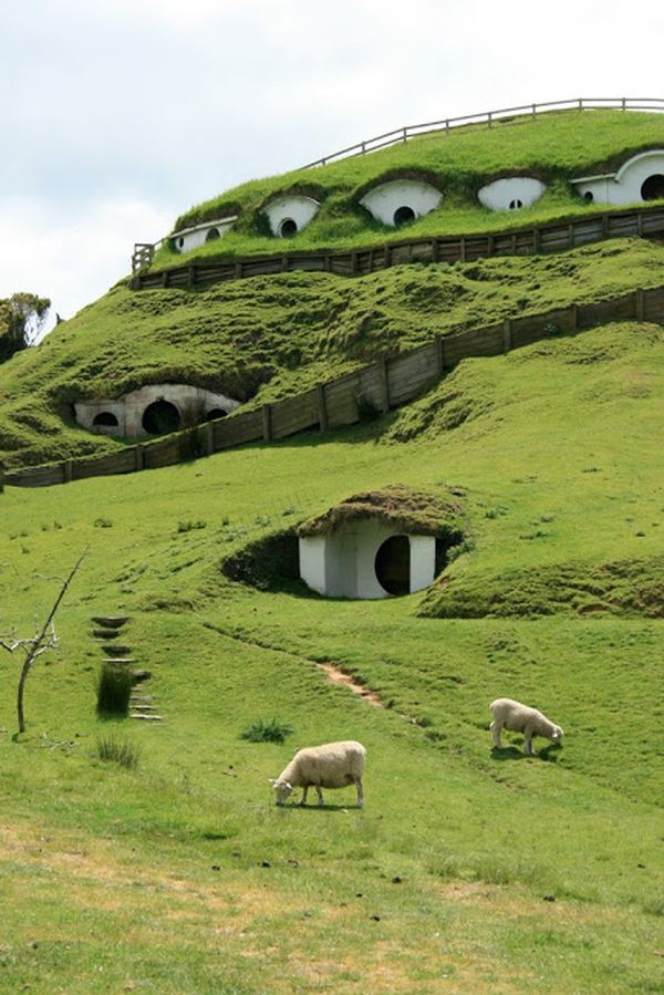 Spectacular Underground Homes Around World