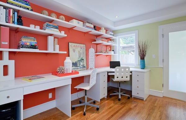 home office color bright