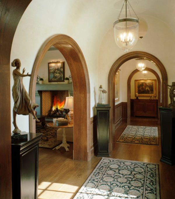 Interior Design Hall And Kitchen: Using Arches In Interior Designs