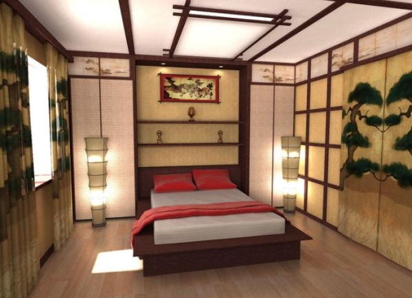 Japanese Zen Bedroom: Five East Asian Inspired Bedroom Ideas