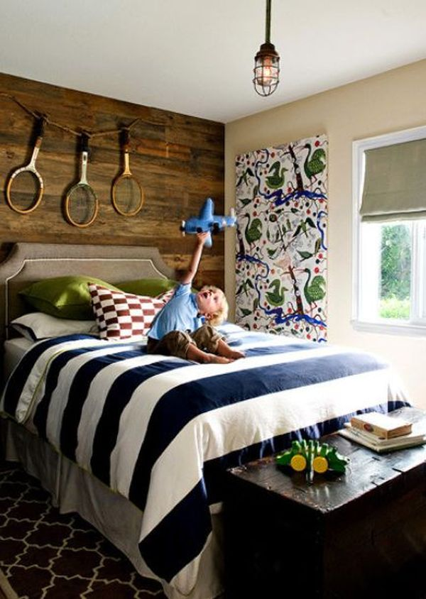 Elementary Age Boys Bedrooms - Lights for kids bedrooms