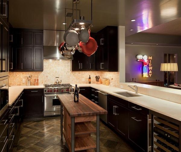 kitchen space island wood