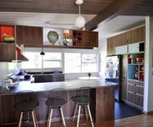 ... Elegant Midcentury Modern Kitchen Interior Design Ideas