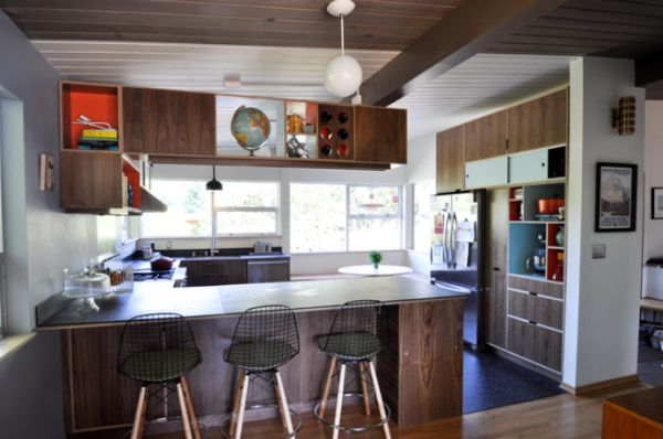 Perfect Elegant Midcentury Modern Kitchen Interior Design Ideas Part 6