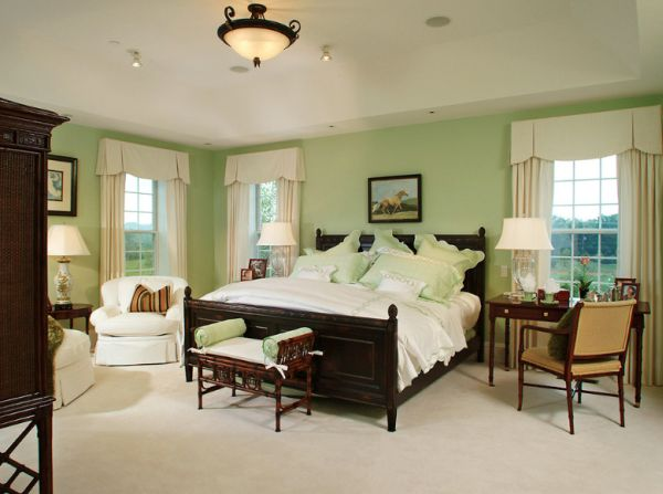 Bedrooms With Green Walls decorating a mint green bedroom: ideas & inspiration