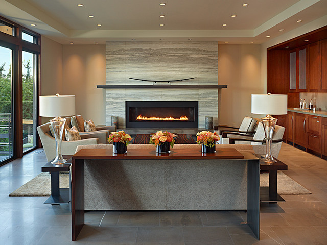 family room fireplace ideas. View In Gallery Decorating A Modern Fireplace  Ideas Inspiration