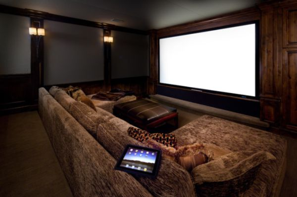 View In Gallery Intimate Home Theater