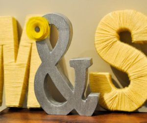 6 Ways To DIY Your Initials