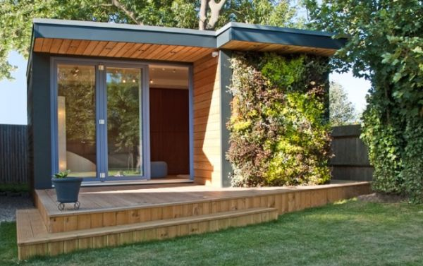The best prefabricated outdoor home offices designs for Garden office interior design ideas