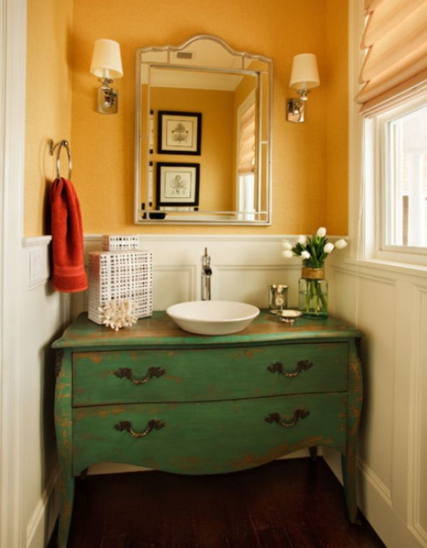 Ideas For Very Small Powder Rooms