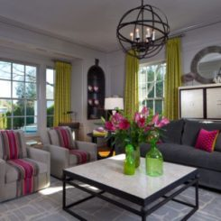 Decorate A Modern Living Room With Colorful Accessories