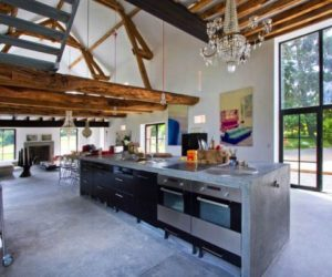 Inspiring Barn Transformation In Burgundy By Joséphine Gintzburger