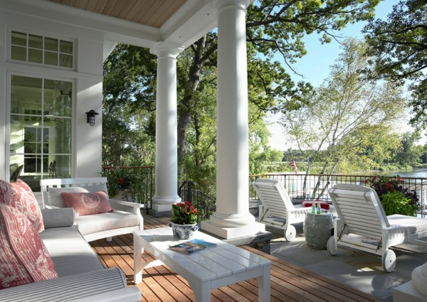 small porch seating ideas