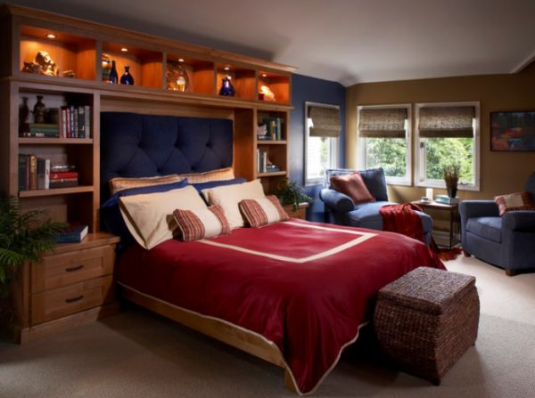 Design a teen boy bedroom
