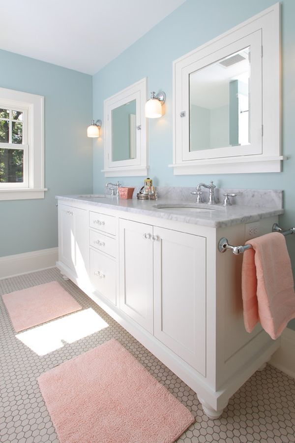 Beau Decorating A Peach Bathroom: Ideas U0026 Inspiration