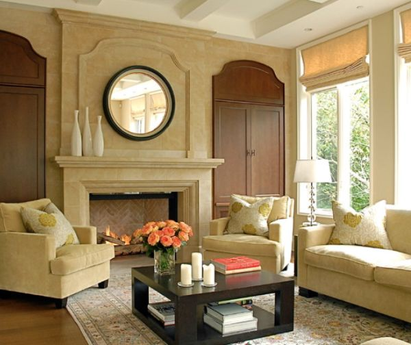 Charming Country Style Fireplaces. Amazing Design