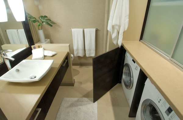 Laundry Room Bathroom Combo Layout Small Spaces