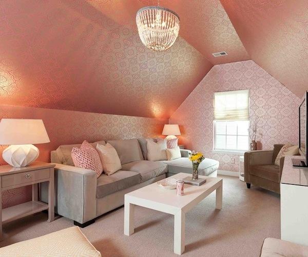 wallpaper pink add space