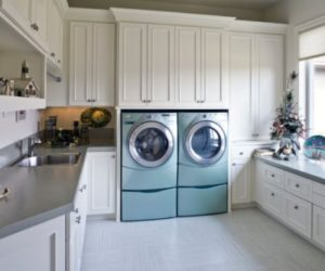High Efficiency, High Style Laundry Rooms