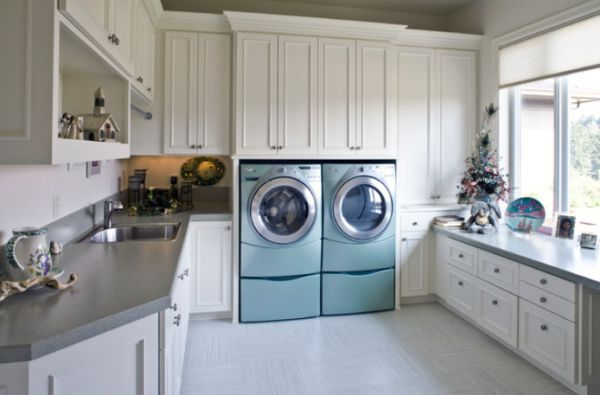 High efficiency high style laundry rooms for Vinyl window designs complaints