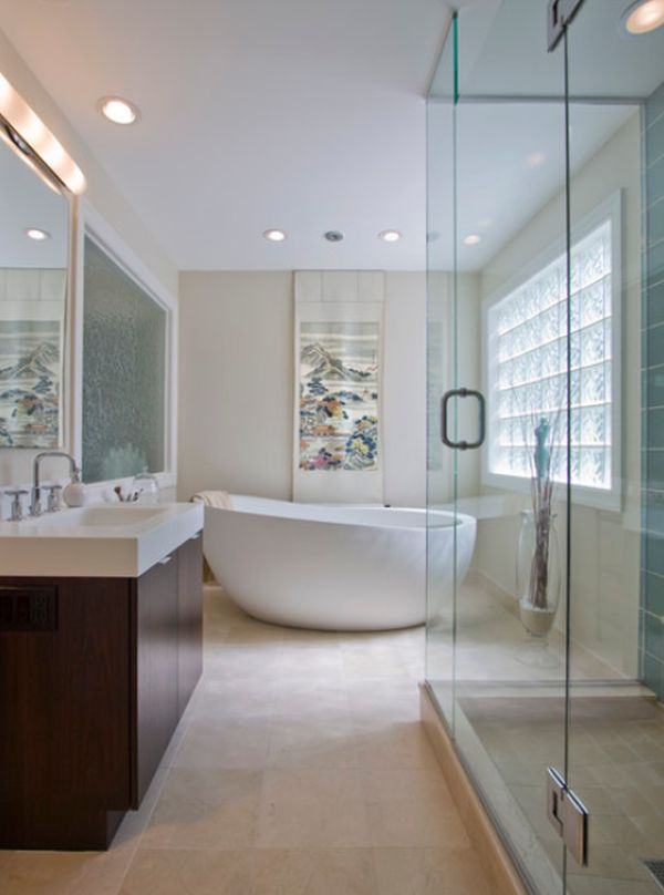 Unique freestanding bathtubs that add flair to your bathroom Bathroom ideas with jetted tubs