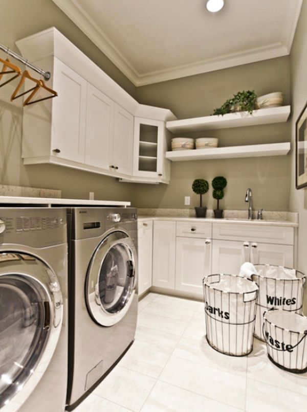 garage decorating ideas - Five Great Ideas For A Revamped Laundry Room